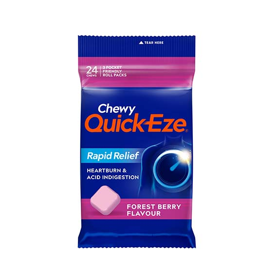QUICK-EZE Chewy Forest Berry Multipack (24 chews)