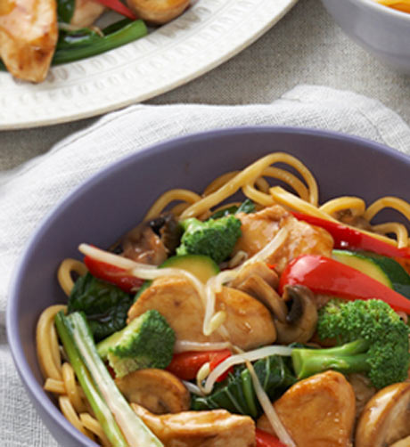 Teriyaki and Sesame Chicken Stir Fry