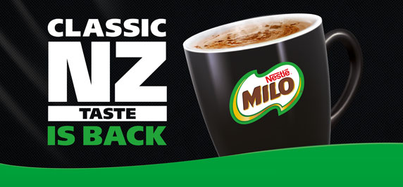 A Kiwi favourite returns: Milo brings back Classic NZ Taste