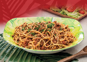 Sample Recipe - Bolognese