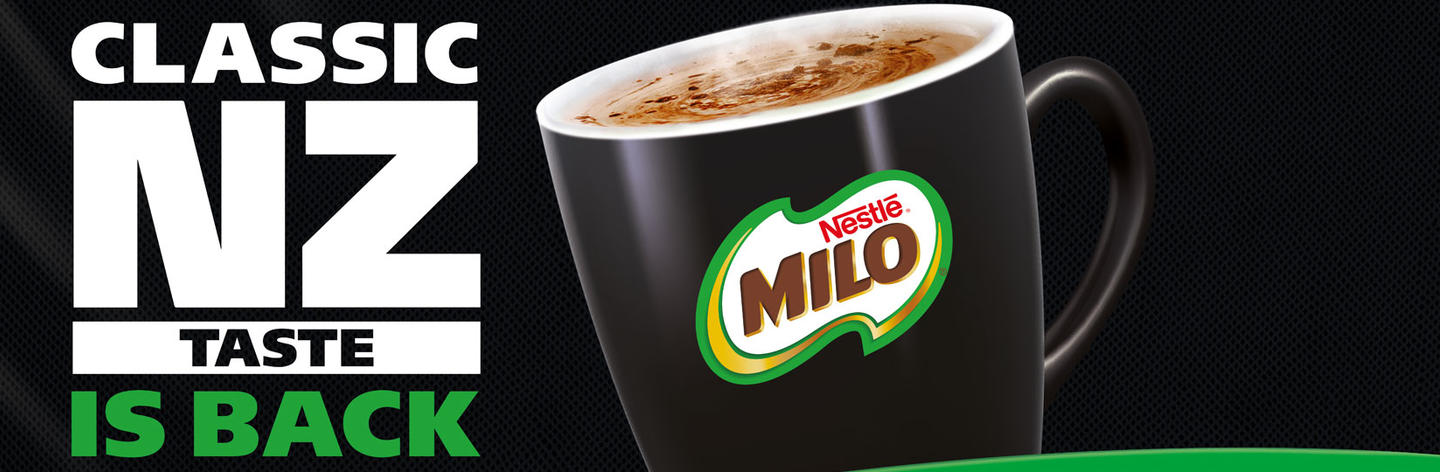 A Kiwi favourite returns: <em>Milo</em> brings back Classic NZ Taste