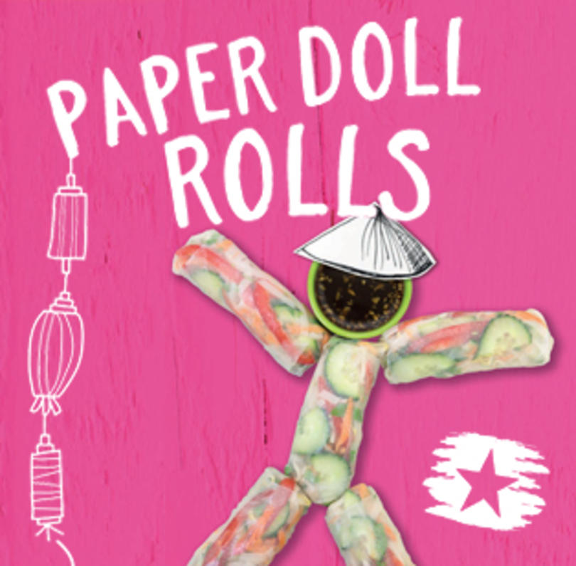 Paper Doll Rolls Lesson Plan